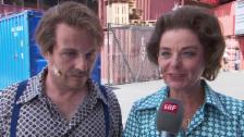 Video «Monika Fasnacht: Als Italo-Mama im Musical» abspielen