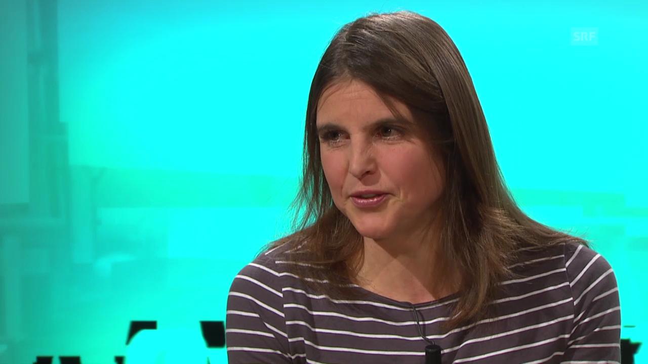 Anita Weyermann über ihre Drillinge