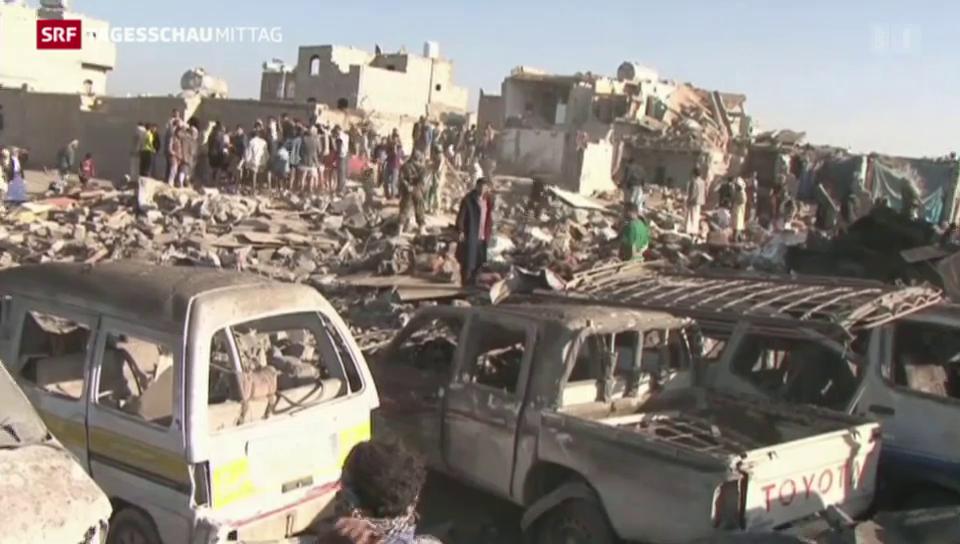 Angriff Saudi-Arabiens auf Huthi-Rebellen