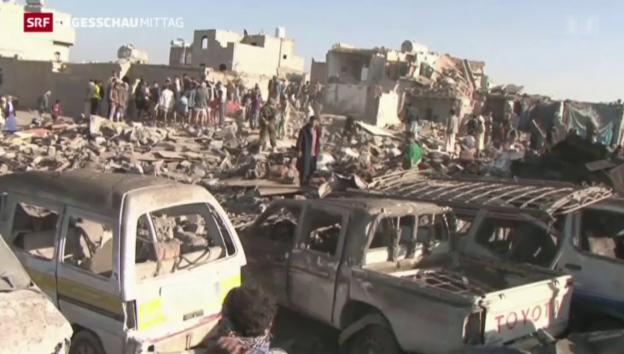 Video «Angriff Saudi-Arabiens auf Huthi-Rebellen» abspielen