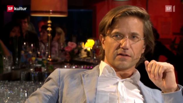 Video ««Literaturclub» mit Stefan Zweifel» abspielen