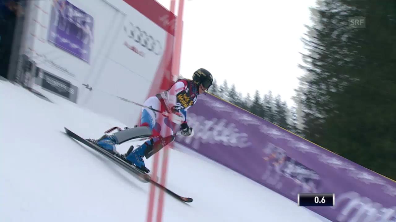Ski Alpin: Slalom Lenzerheide, 1. Lauf Gut («sportlive», 15.03.2014)