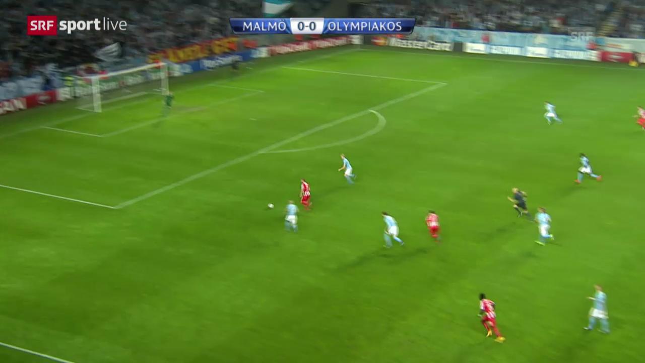 Fussball: CL, Malmö - Piräus