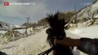 Video «Skijöring in Minturn» abspielen