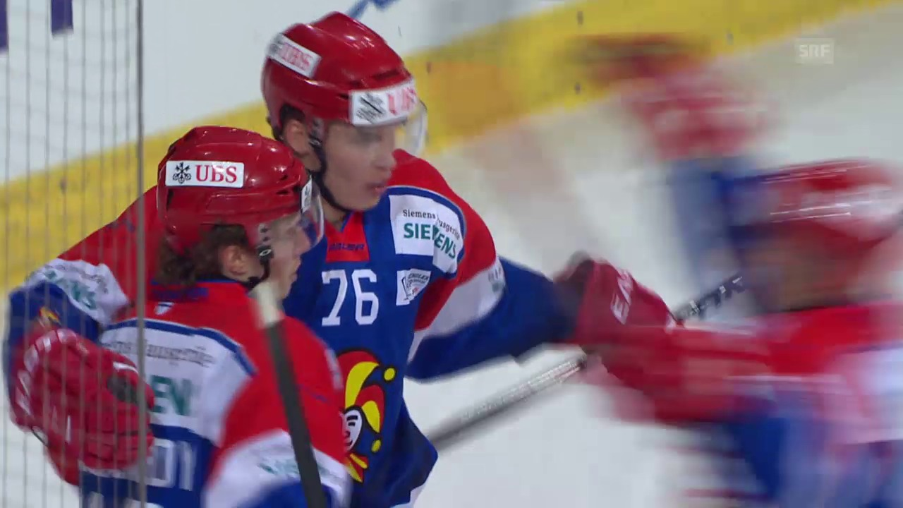 Eishockey: Spengler Cup 2015 in Davos, 2. Spieltag, Jokerit Helsinki - Adler Mannheim