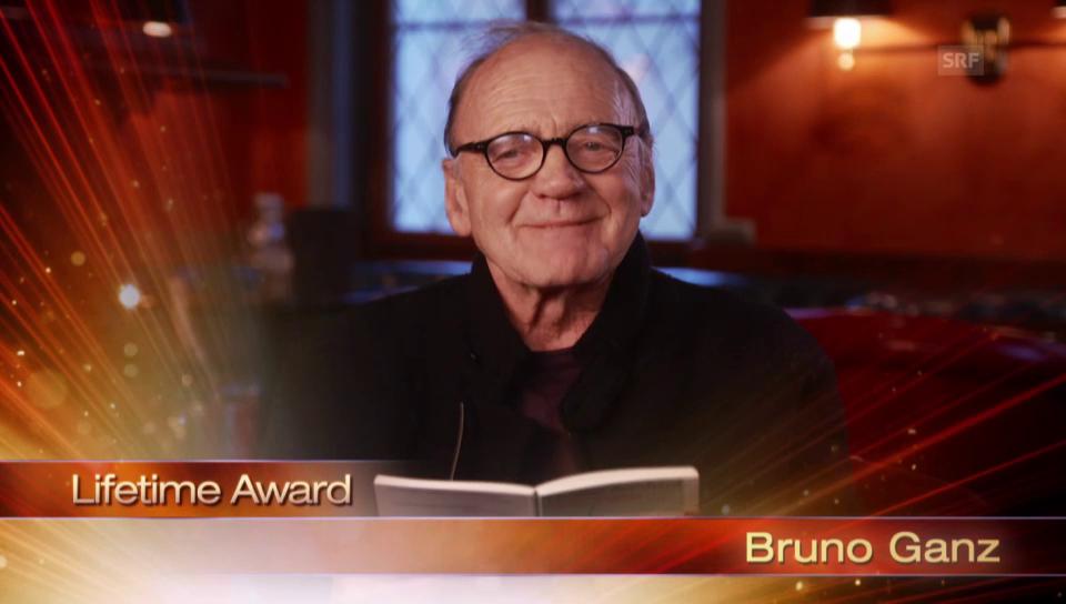 Die Dankesrede von Bruno Ganz