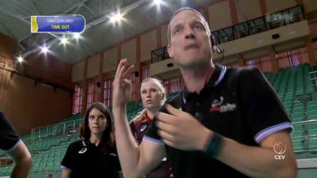 Video «EM für die Volleyballerinnen wohl ausser Reichweite» abspielen