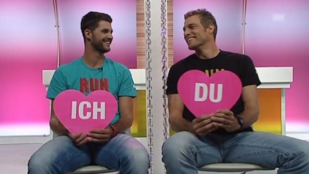 Video ««Ich oder Du» mit Sascha Heyer und Sébastien Chevallier vom 3. Februar 2013» abspielen