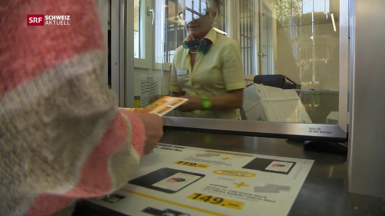 20 Poststellen im Kanton Graubünden auf der Kippe