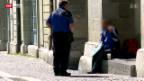 Video «Spürbar weniger Bettler in Lausanne» abspielen