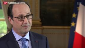 Video «Hollande in der Schweiz» abspielen