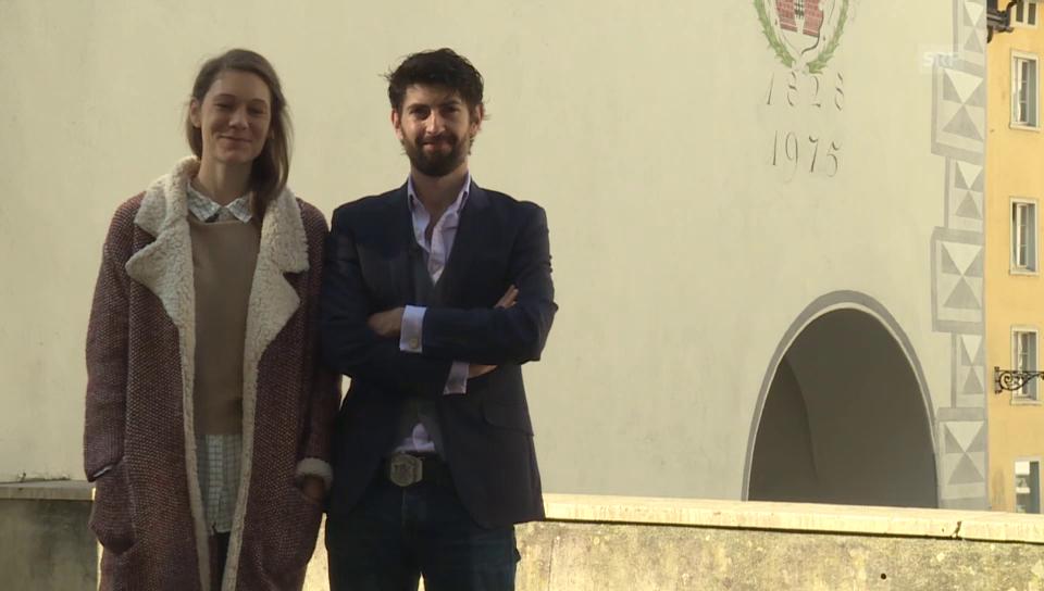 Michel Decurtins und Sabrina Bund