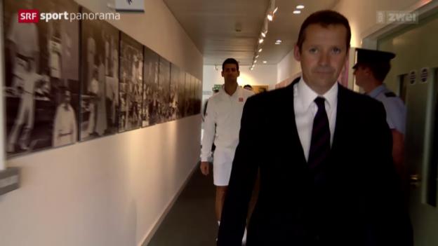 Video «Tennis: Der «Walk of Fame» in Wimbledon» abspielen