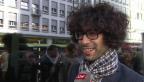 Video «Haarig: Warum Pegasus-Noah keinen an seine Locken lässt» abspielen