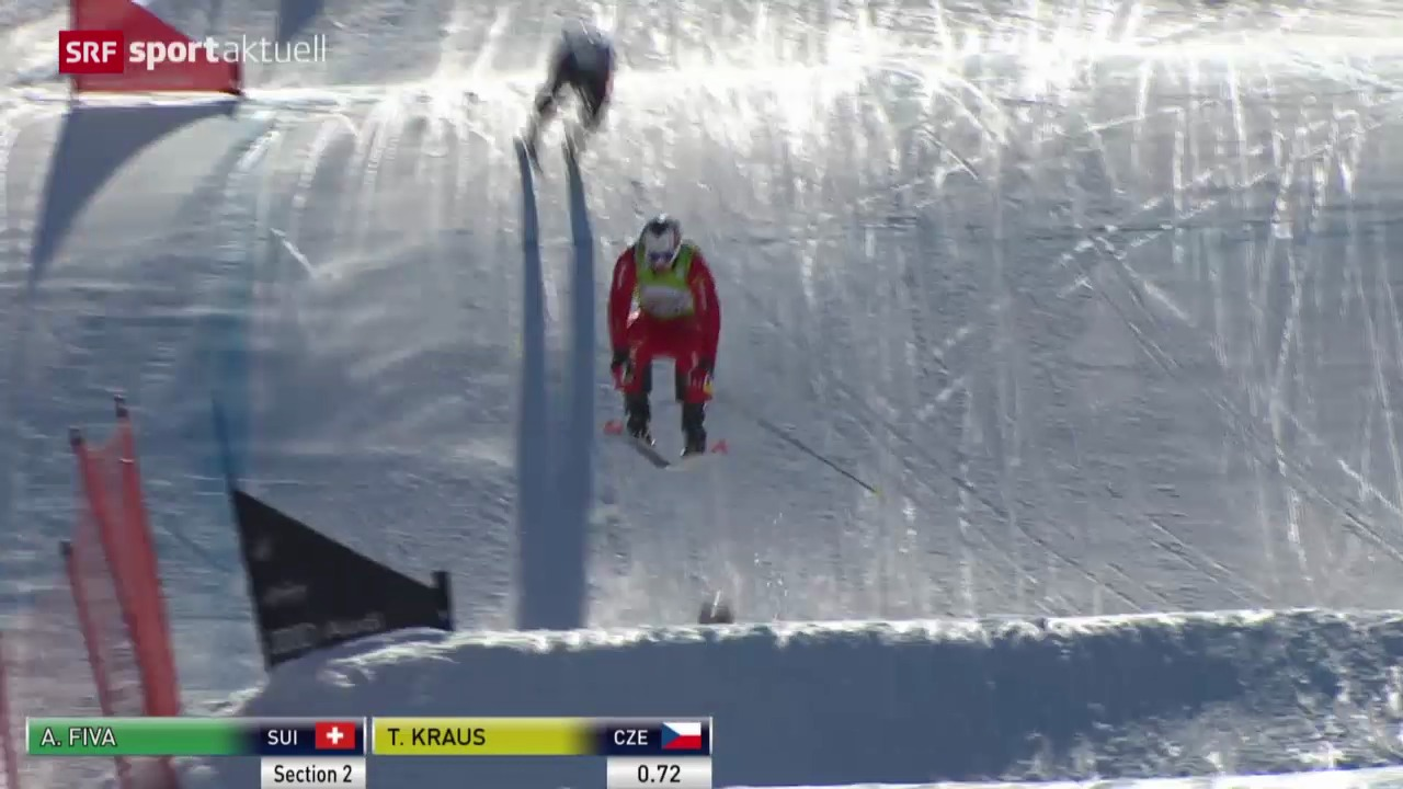Skicross: Weltcup Arosa