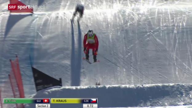 Video «Skicross: Weltcup Arosa» abspielen