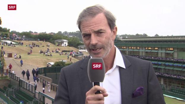Video «Tennis: Wimbledon-Final, Einschätzung Günthardt» abspielen