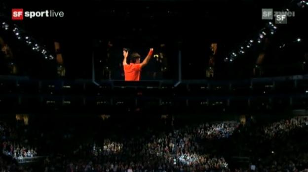Video «Höhepunkte Federer - Nadal («sportlive»)» abspielen