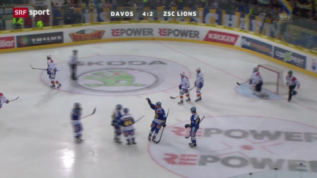 Video «NLA: Davos - ZSC Lions («sportaktuell»)» abspielen