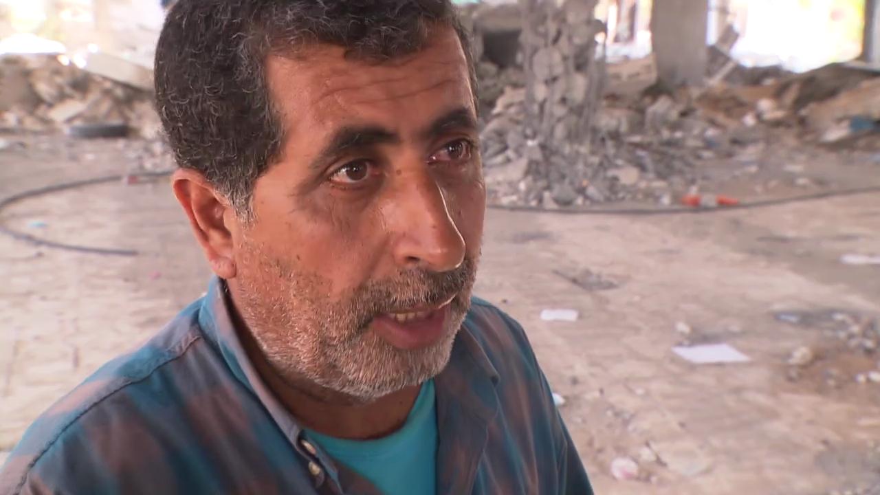 Yahya Elshaer, Muezzin: «Alles kaputt, warum?»