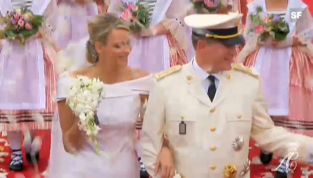 Die Highlights der Hochzeit von Albert und Charlène