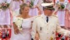 Video «Die Highlights der Hochzeit von Albert und Charlène» abspielen