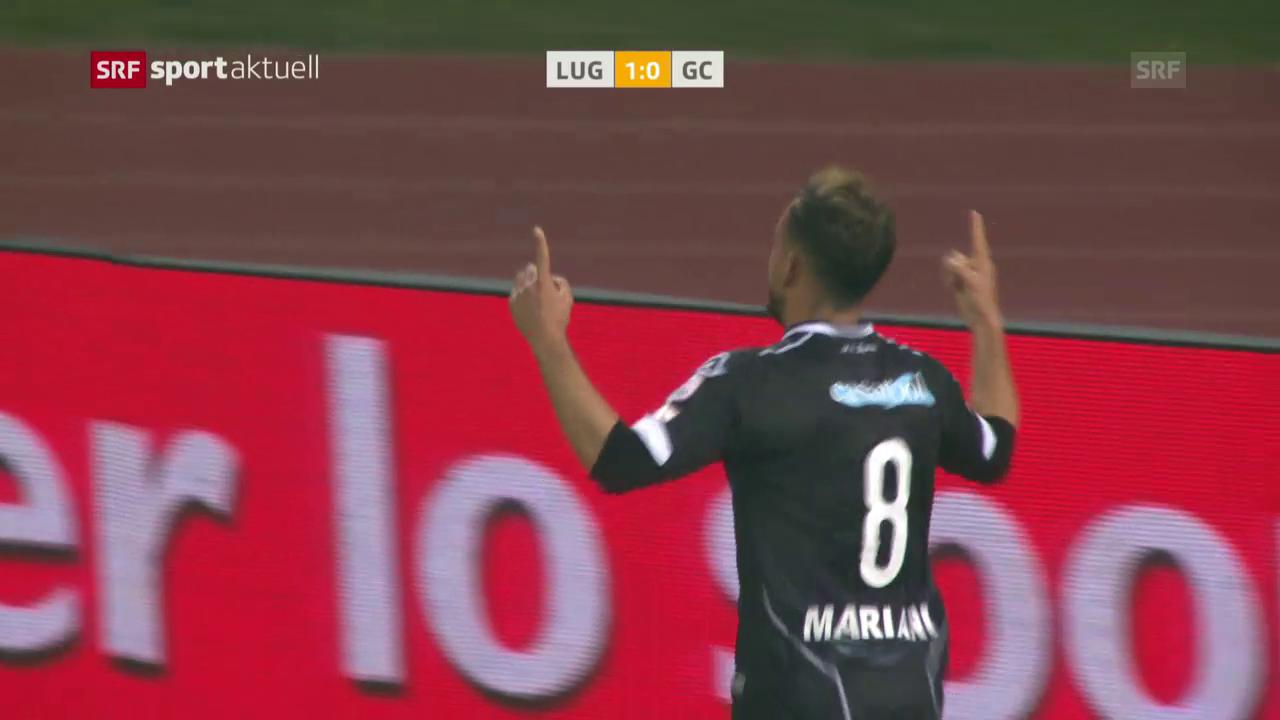 Lugano schlägt GC zuhause mit 1:0