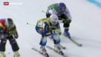 Video «Bronze und Sturz im Skicross» abspielen