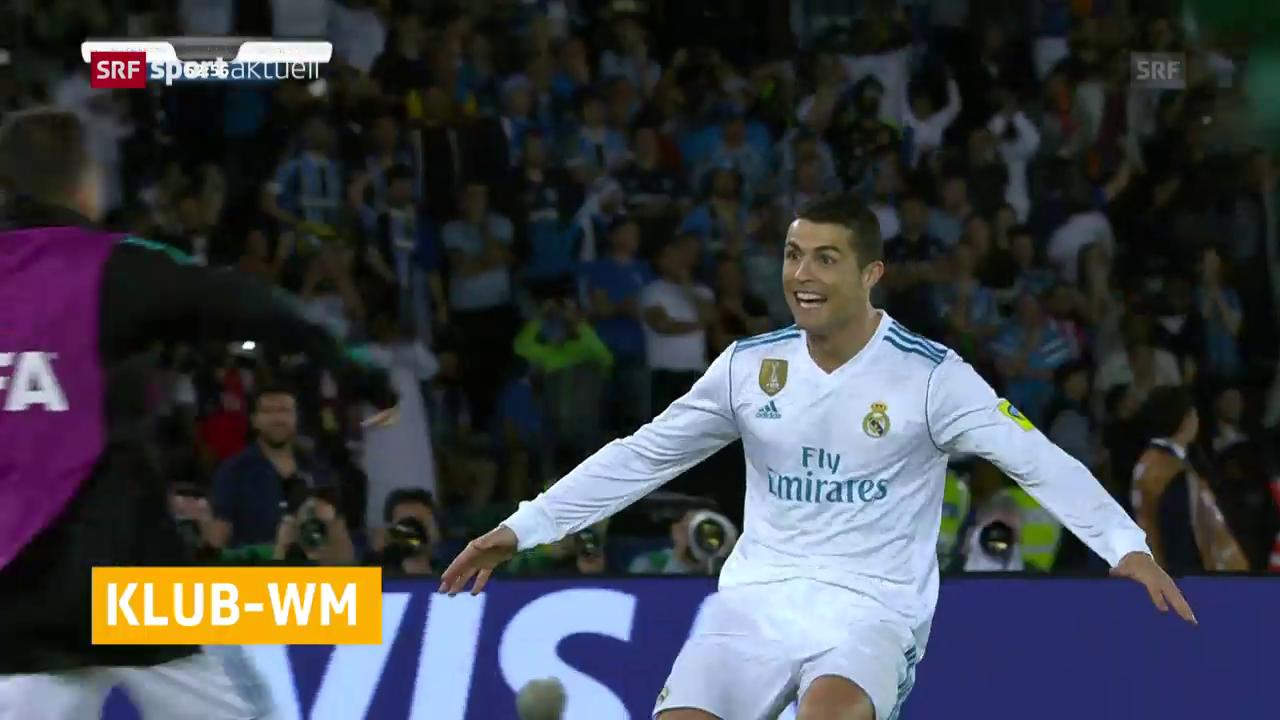 CR7-Freistoss macht Real zum Klub-Weltmeister