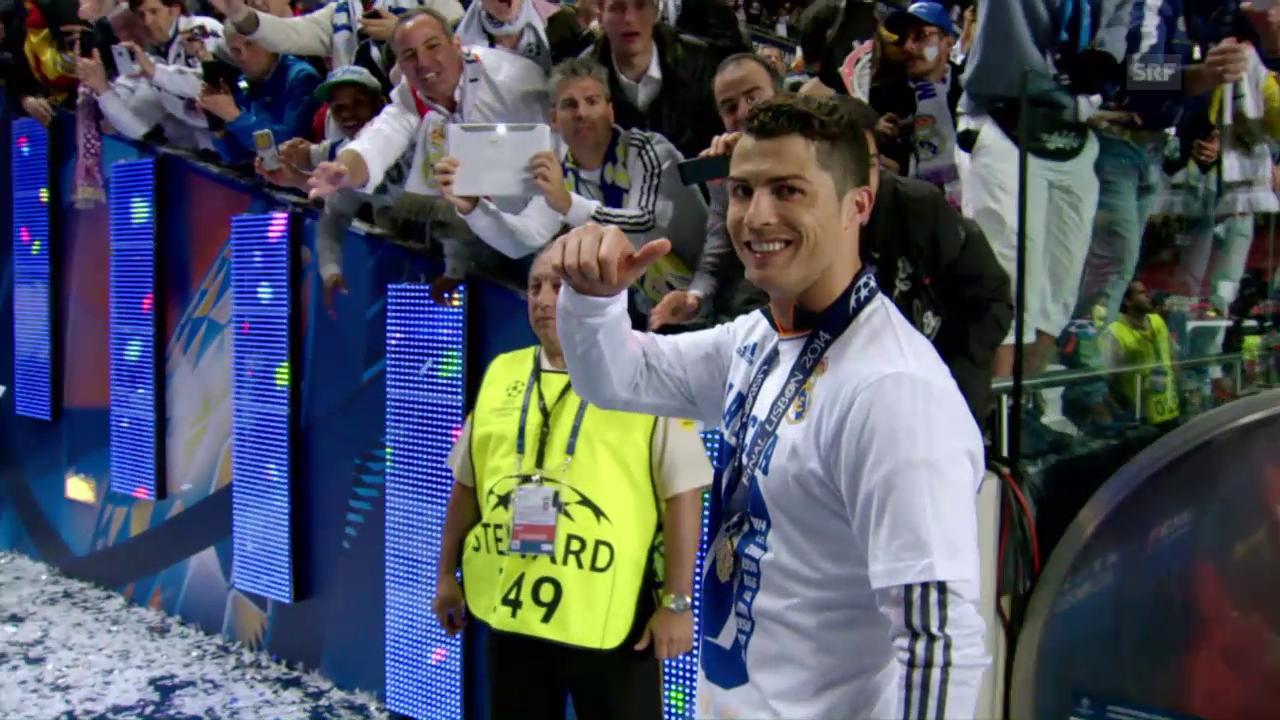 Ronaldos Erfolgshunger ist unstillbar