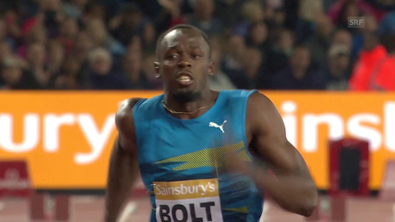 Leichtatheltik: Diamond League London, Final 100 m