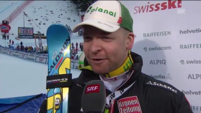 Ski alpin: Interview mit Klaus Kröll («sportlive»)