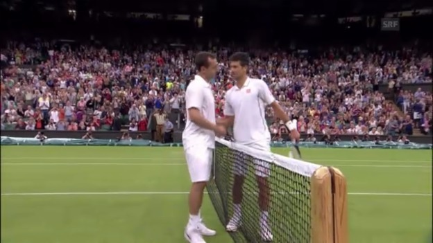 Video «Zusammenfassung Djokovic - Reynolds» abspielen