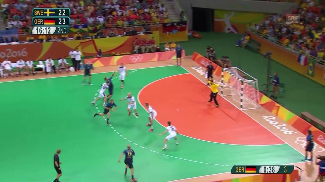 Handball-Knüller: Deutschland schlägt Schweden