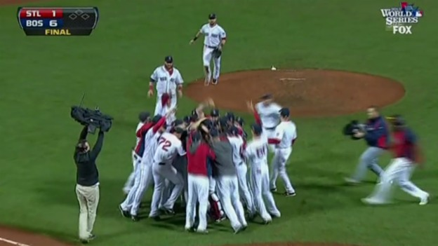 Video «Boston Red Sow gewinnen World Series» abspielen