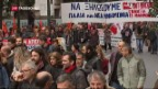 Video «Demonstrationen in Griechenland» abspielen