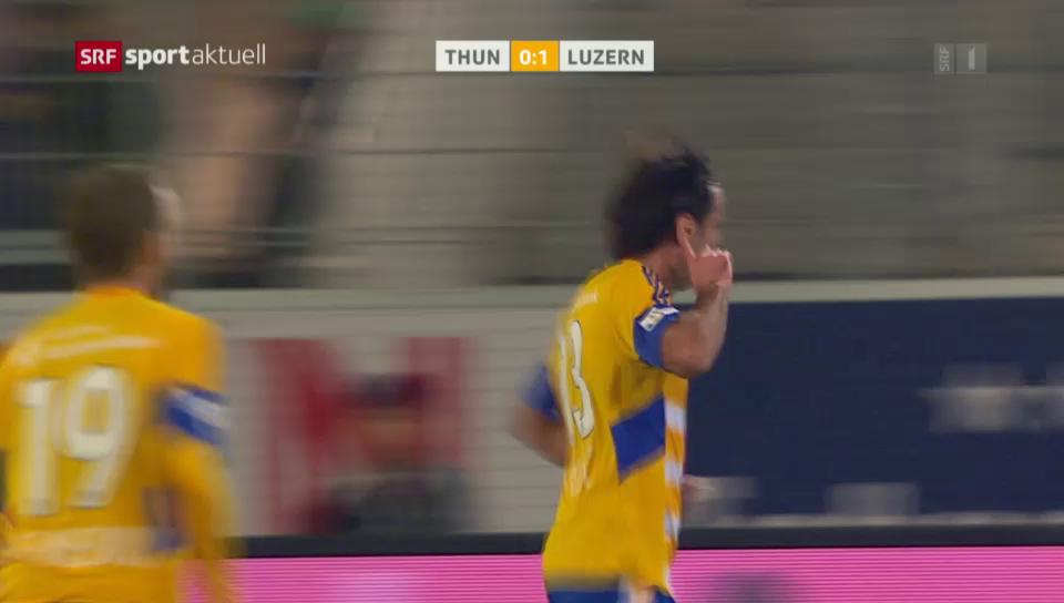 Natürlich per Kopf: Tomislav Puljics letzter Treffer für Luzern