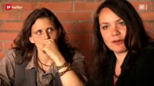 Video ««Knuth & Tucek»: Enkelin Nicole und Opa Gustav Knuth (Kulturplatz vom 09. Mai 2012)» abspielen