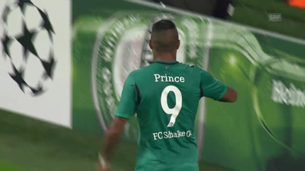 Video «Fussball: Boatengs Treffer gegen Steaua Bukarest» abspielen