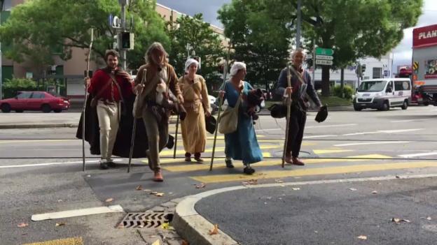 Video «Die 5 Pilger sagen DANKE» abspielen