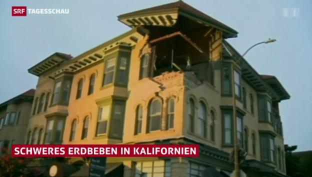 Video «Beben in Kalifornien» abspielen