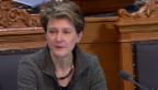 Video «Sommaruga: «Wir wollen Integrationsdefizite früher erkennen»» abspielen