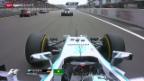 Video «Formel 1: Grosser Preis von China in Schanghai» abspielen