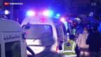 Video «Libanon von schweren Anschlägen erschüttert» abspielen