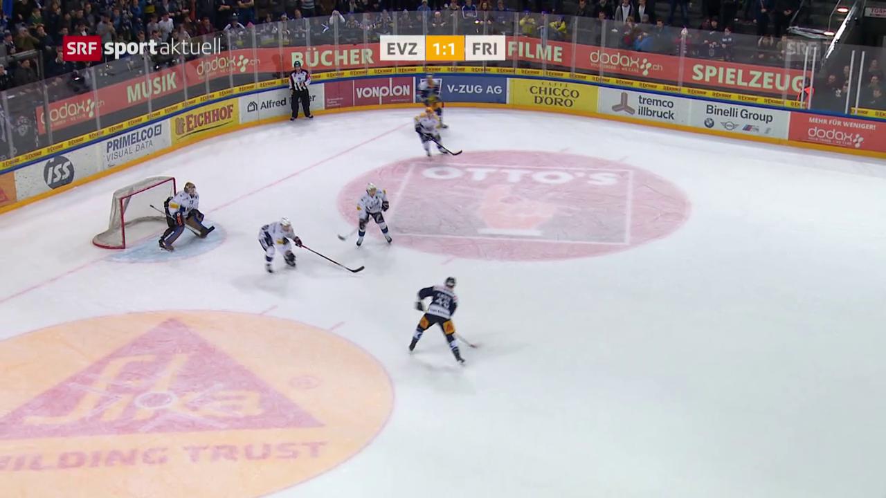Zug besiegt Freiburg mit 2:1 nach Verlängerung
