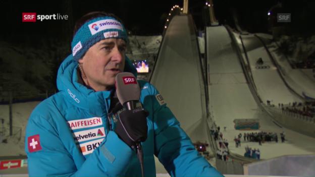 Video «Schödler: «Ein zuversichtlicher Simon tut der Schweiz gut»» abspielen