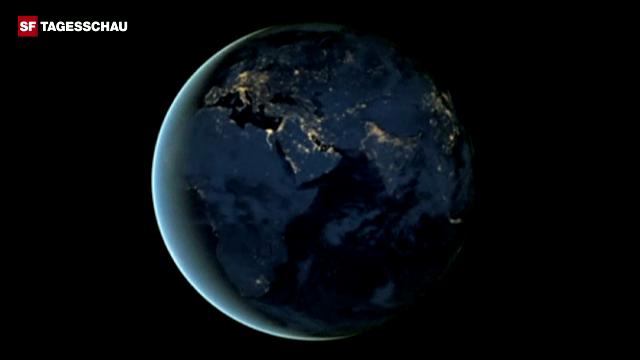 Die Erde bei Nacht – gesehen aus der Perspektive des neuen Nasa-Satelliten.
