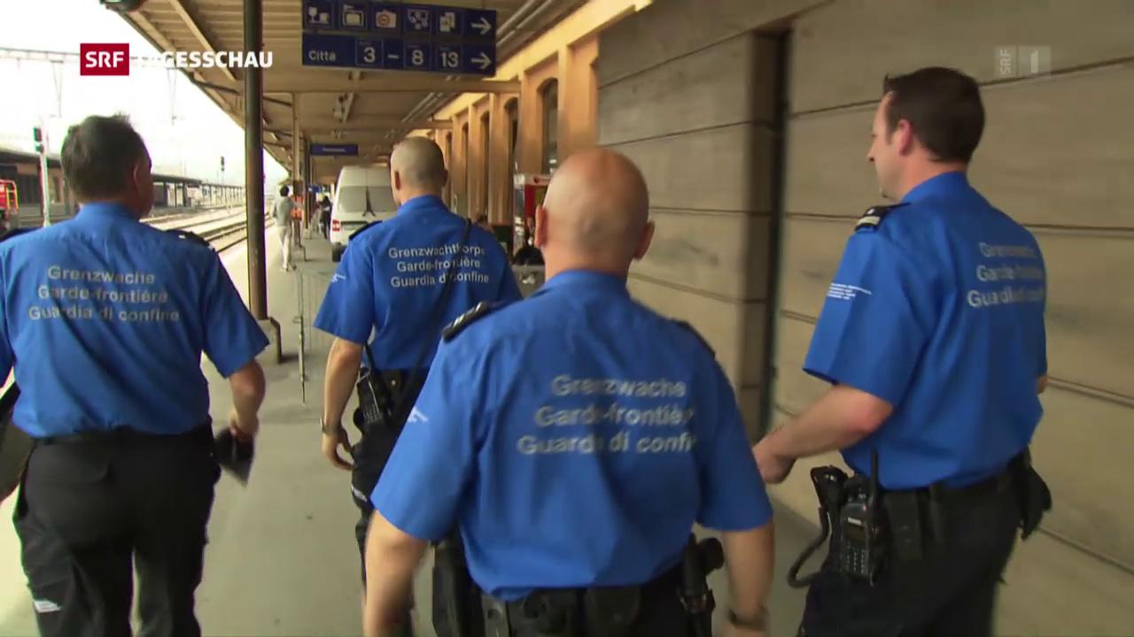 Eritreer kritisieren Schweizer Grenzwacht
