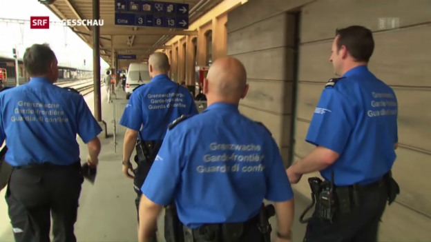 Video «Eritreer kritisieren Schweizer Grenzwacht» abspielen