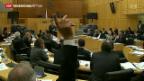 Video «Zyperns Parlament stimmt über Rettungsplan ab» abspielen